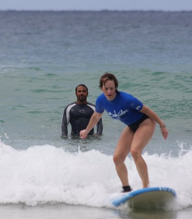 Boarding House Surf School: Learn with the best equipment, conditions, and instruction available.