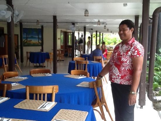 Gecko's Restaurant : friendly staff at Gecko's