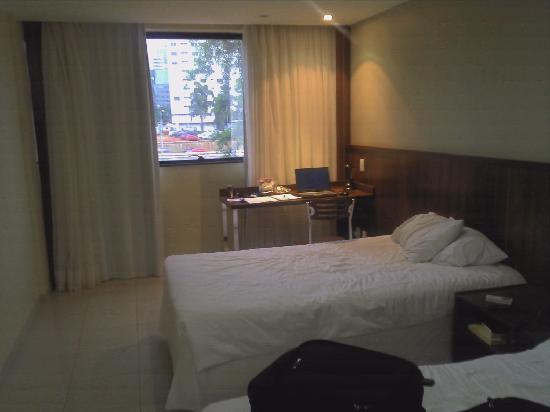 Esplanada Brasilia Hotel: White, spartan, yet clean