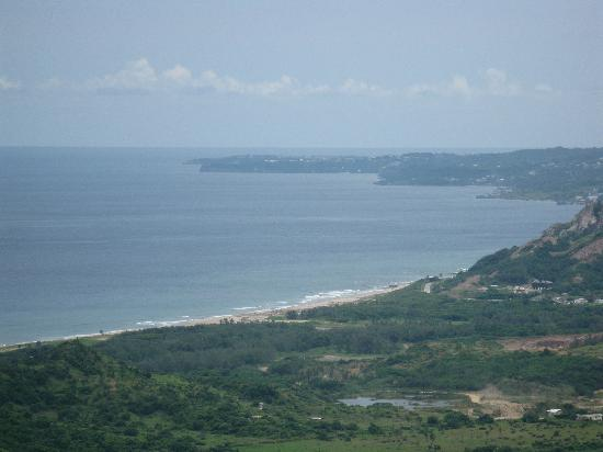 Turtle Beach by Elegant Hotels: View from the highest point of the island