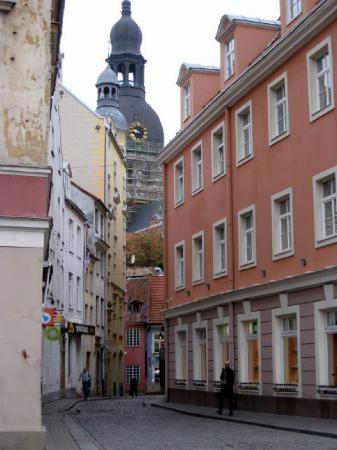 Hanza Hotel: The historic and scenic old section of Riga