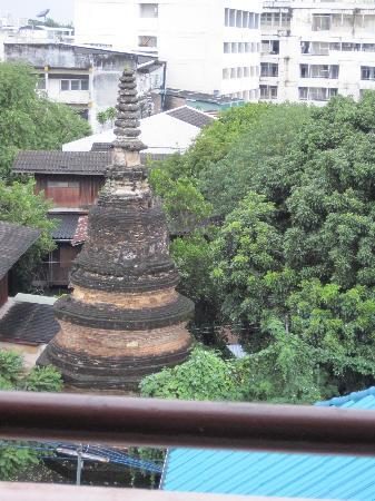 Chiang Mai Gate Hotel: View from hotel window