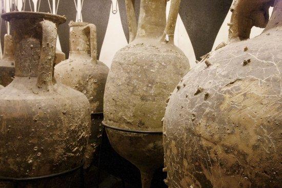 MUVIT Museo del Vino Torgiano Museum : MUVIT Anfore per il trasporto vinario