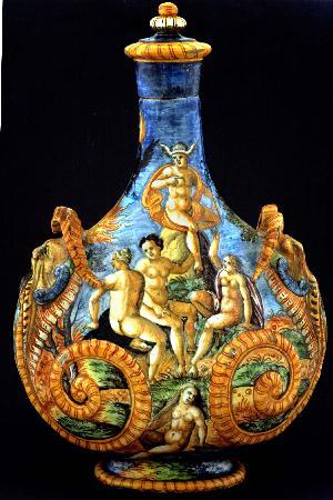 MUVIT Museo del Vino Torgiano Museum : MUVIT Fratelli Fontana, Fiasca da parata