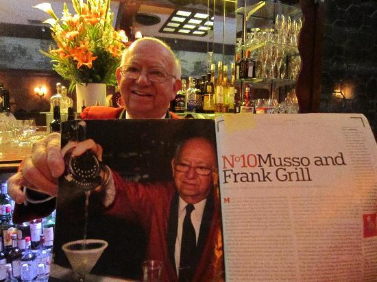 Musso & Frank Grill: Manny