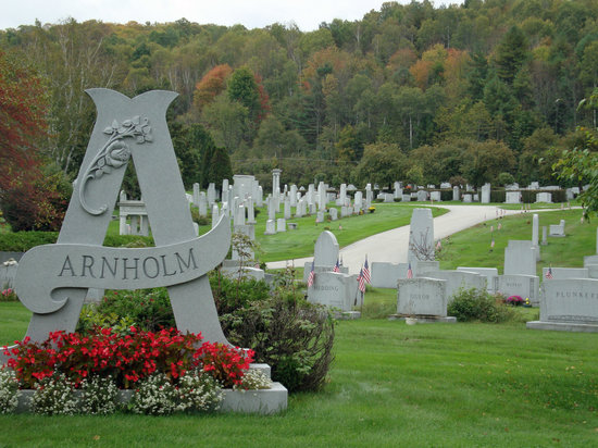 Barre, VT: The cemetery is in a lovely setting