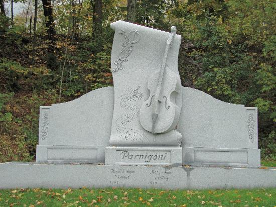 One Of The Most Beautiful Headstones In The Cemetery