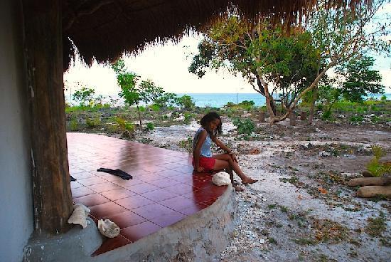 Sumba, Indonesia: Beach house with sea view