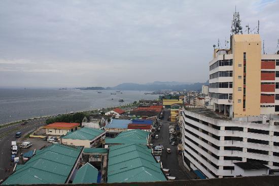 โรงแรมนาก: rooftop view