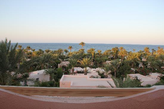 Club Oasis Marine : Vue de notre terasse de chambre