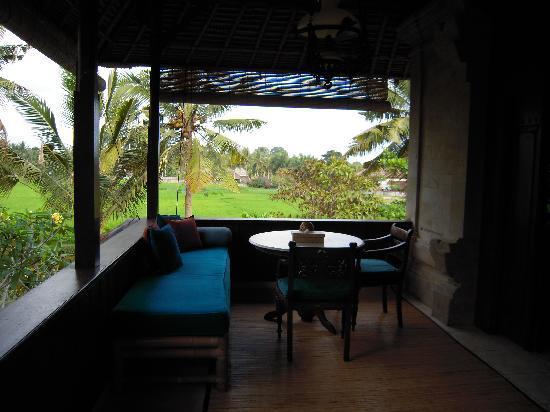 Alam Jiwa: wunderschöner Ausblick von der Terasse