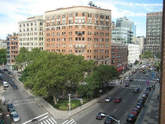 The Roxy Hotel Tribeca: View from corner window