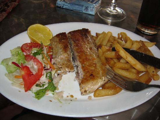 Symon's Restaurant: il mio piatto da 450 rupie