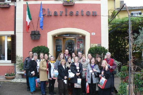 Hotel Charleston: tour group