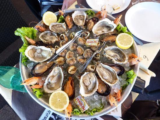 Plats de fruits de mer photo de la cuisine au beurre - Atelier de cuisine marseille ...