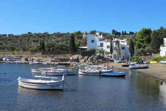 Cadaques, Spain: The house.