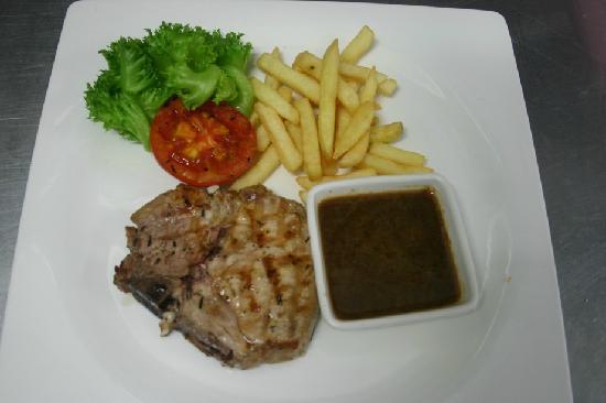 Nakhon Pathom, تايلاند: Grilled Pork Chop