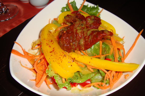 Nakhon Pathom, Thailandia: Roasted Vegetable Salad