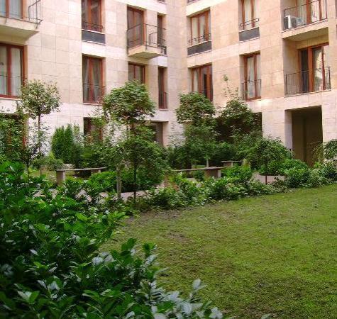 Paradise Apartments: Courtyard