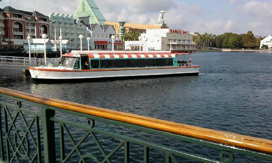 Disney's BoardWalk Inn: Ferry to the parks.