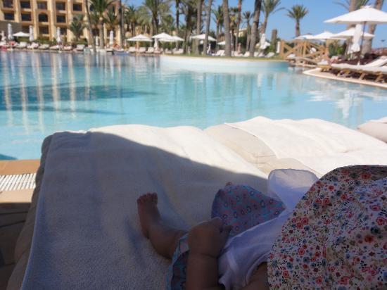 Movenpick Resort & Marine Spa Sousse : pool side