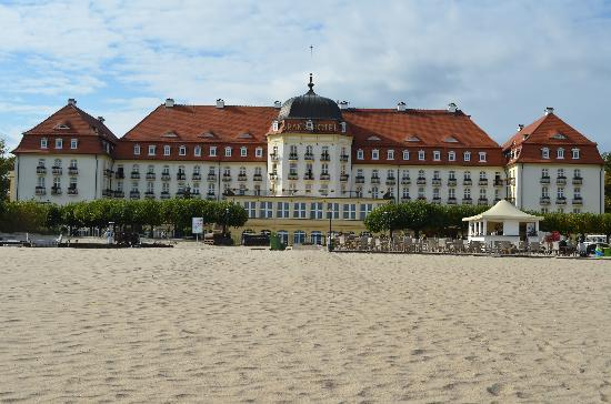 Sofitel Grand Sopot: it really is this close to the beach