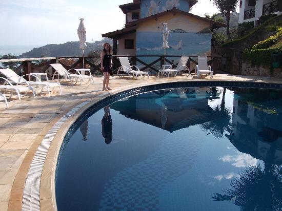 Hotel Ilha Branca Inn: piscina con vista al mar