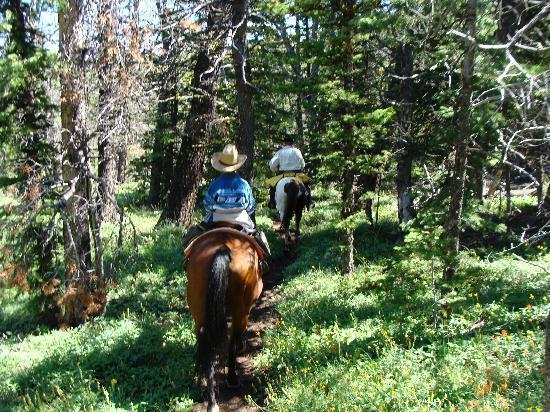 Rimrock Ranch: One of our scenic rides