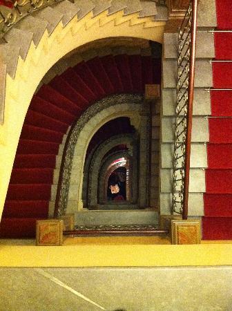 Hotel Kamp: hallway