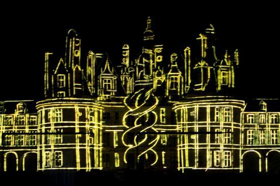 Sons est Lumiere at Chambord 3