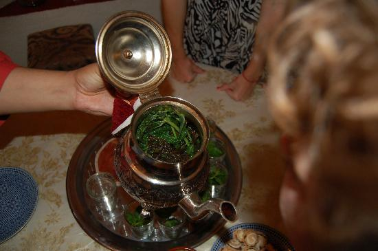 Savor Morocco: Learning about the custom of Moroccan mint tea.