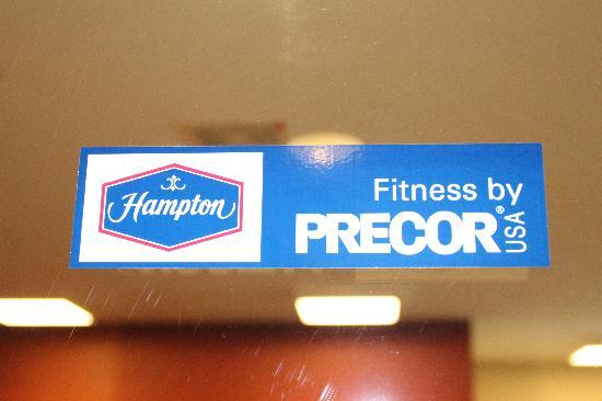 Hampton Inn & Suites Marshalltown: our guests have free access to our PreCor fitness center