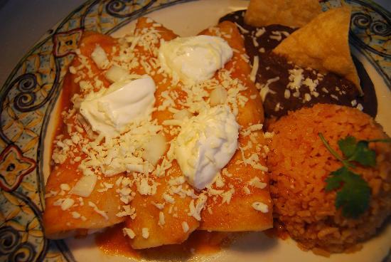 Cilantro: Enchiladas