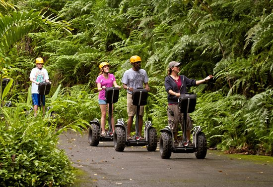 Segway Off Road at Botanical World Adventures: A World of Wonder in the Rain Forest and Botanical Gardens