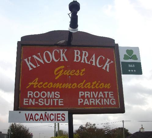 Knockbrack B&B: Knock Brack sign