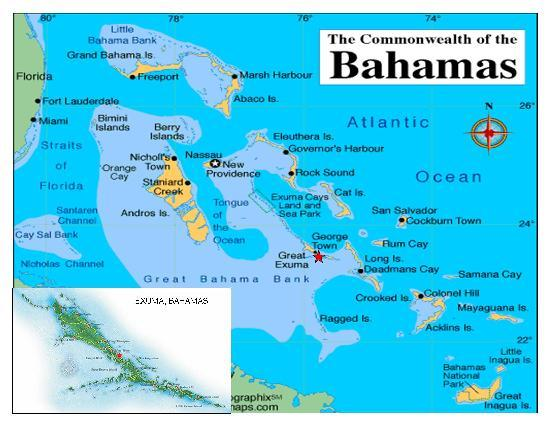 Map of the Bahamas - Picture of Hideaways at Palm Bay, George Town ...