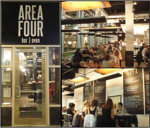 Restaurant interior - Picture of Area Four Kendall Square