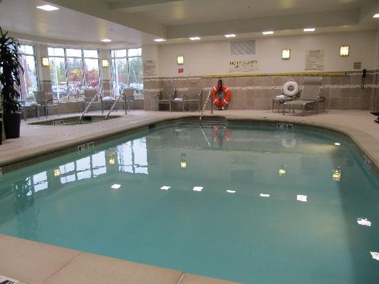 Hilton Garden Inn Eugene / Springfield: Pool area