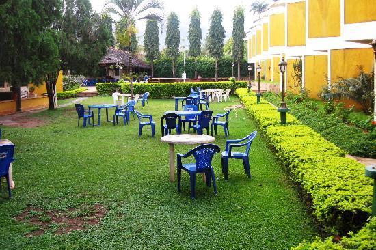 Hotel Oasis: Courtyard