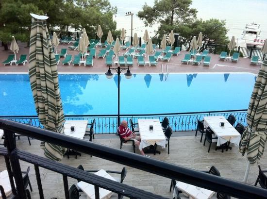 Marmaris Park Hotel: pool area