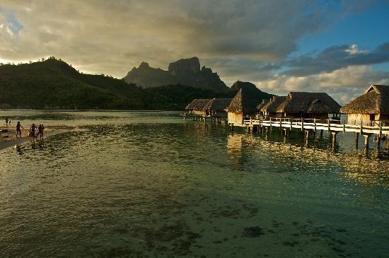 Sofitel Bora Bora Marara Beach Resort : Bora Bora's view from Private Island