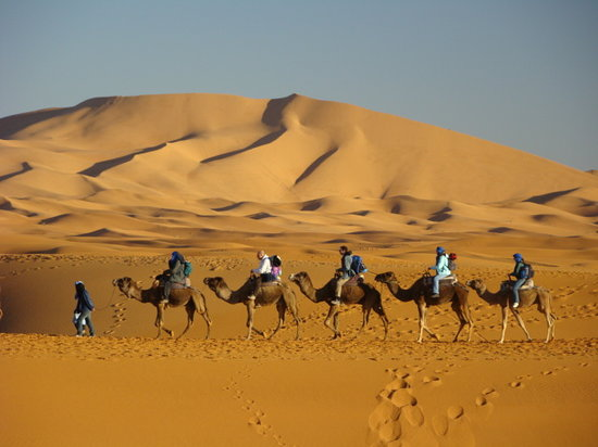 Aspects Of Morocco Day Tours : Merzouga Sand Dunes