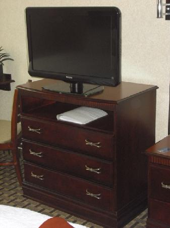 هامبتون إن آند سويتس كليفلاند منتور: Flat screen HD TV