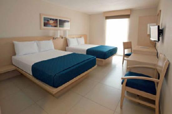 City Express Playa del Carmen: Habitacion Doble
