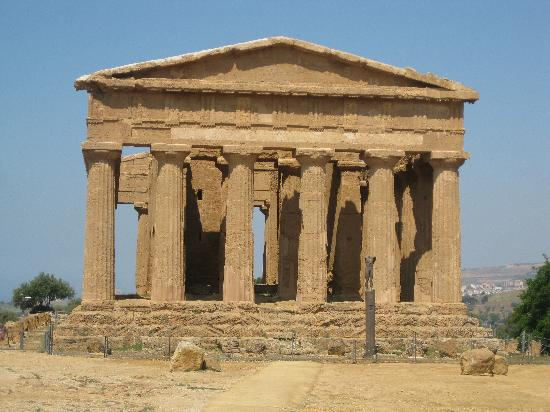 Valley of the Temples (Valle dei Templi): The best intact temple