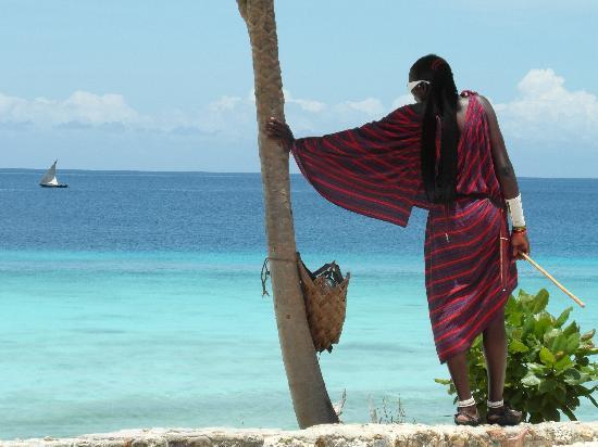 Sunset Beach Resort Zanzibar: masai