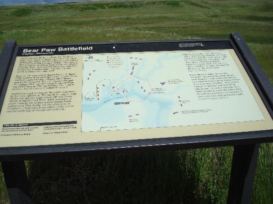 Bear Paw Battlefield: Trail