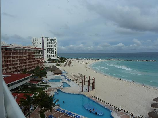 Krystal Cancun: view from our bedroom