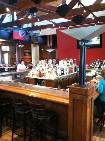 The Ale House : central bar station at Ale House