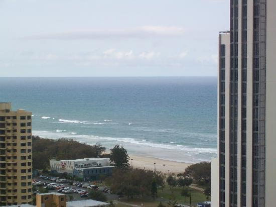 Ultra Broadbeach: View from our 20th floor apartment